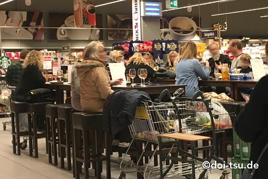 ドイツのスーパーマーケット EDEKA
