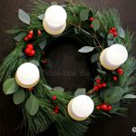 アドベントクランツの作り方【ドイツのクリスマスリース】アドベント必須アイテムで自宅でクリスマスを楽しもう!