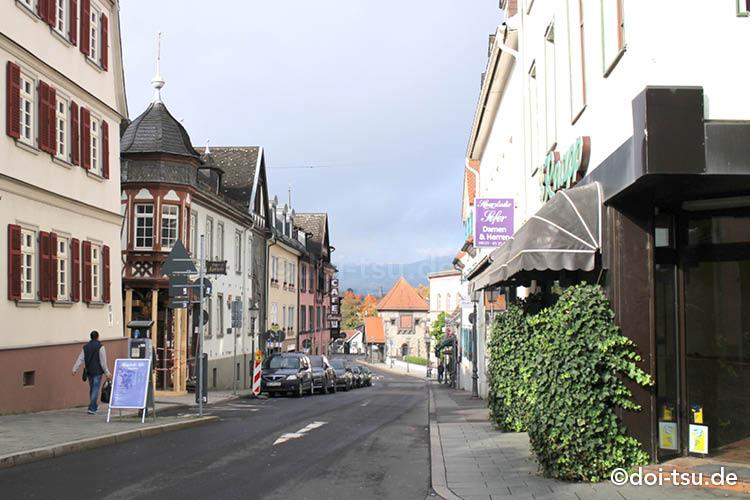 フランクフルトから日帰りで行けるドイツの町、バートホンブルク