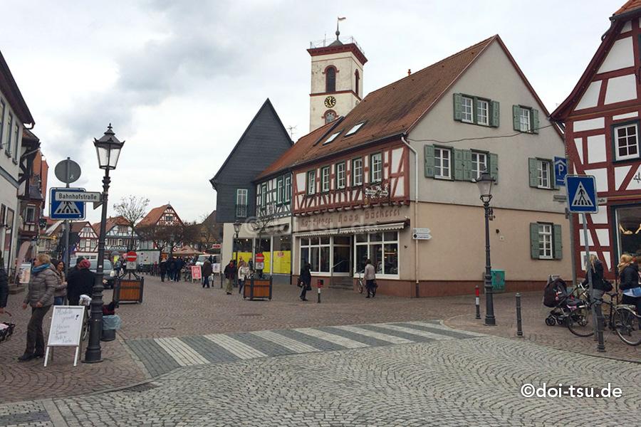 見所たくさんの木組みの家街道の街 ゼーリンゲンシュタット