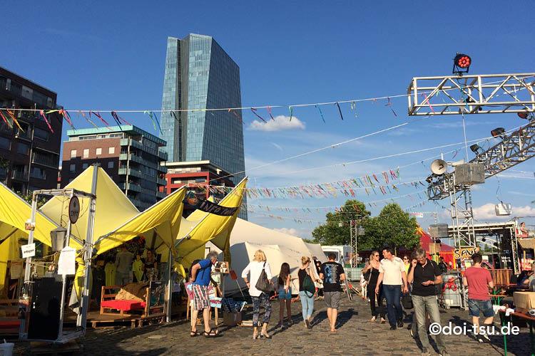 sommerwerft in Frankfurt