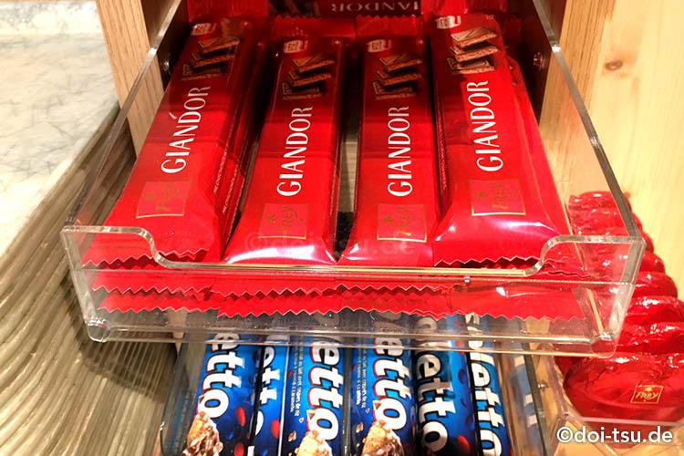 スイスのチョコレートメーカー、ショコラ・フレイ Chocolat FreyのブランドGiandor(ジャンドール)と Risoletto(リソレット)