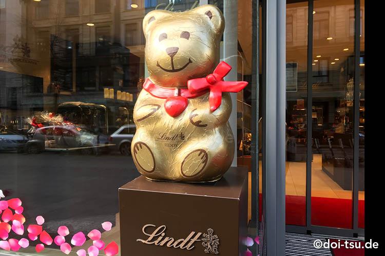 Lindt リンツの直営店