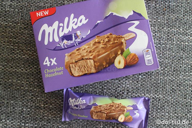 ミルカ(Milka)のアイスクリーム