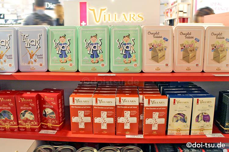 スイスのチョコレートブランド、ヴィラーズ Villars
